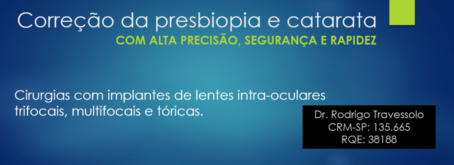 presbiopia